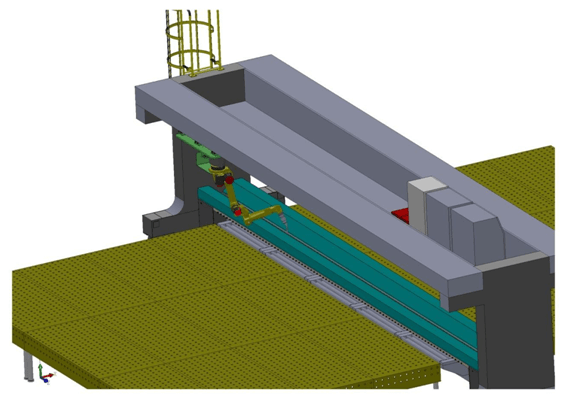 铝合金板材板长焊缝拼板焊接机器人工作站设计方案